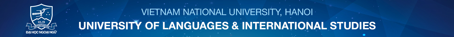 University of Languages and International Studies - VNU,Hanoi